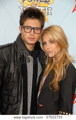 Cody Longo and Cassie Scerbo at Variety's 3rd Annual