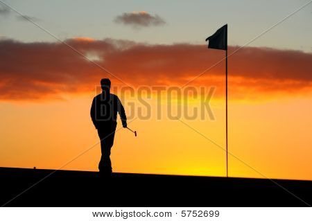 Morning Golfer