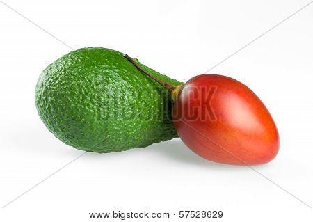 Avocado And Tamarillo