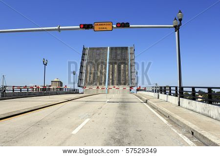 Open Intracoastal Drawbridge