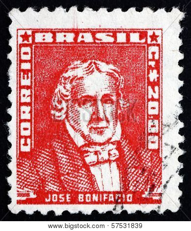 Postage Stamp Brazil 1959 Jose Bonifacio, Statesman