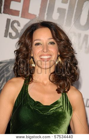 Jennifer Beals  at 'The Book Of Eli' Premiere, Chinese Theater, Hollywood, CA. 01-11-10