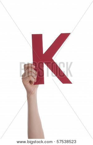 Hand With A K