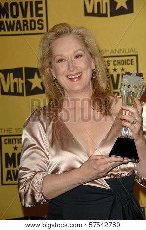 Meryl Streep at the 15th Annual Critic's Choice Awards, Hollywood Palladium, Hollywood, CA. 01-15-10