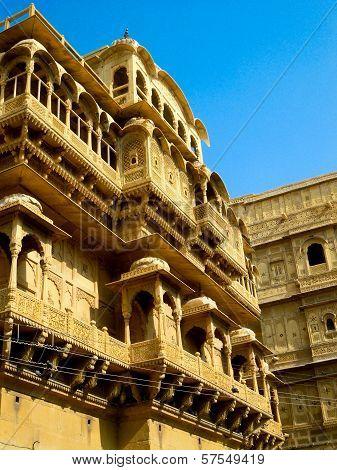 Haveli (palace) In Jaisalmer Rajasthan