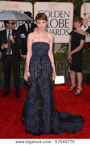 Carey Mulligan at the 67th Annual Golden Globe Awards, Beverly Hilton Hotel, Beverly Hills, CA. 01-17-10