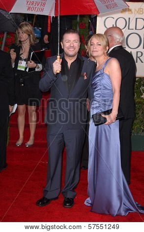 Ricky Gervais at the 67th Annual Golden Globe Awards, Beverly Hilton Hotel, Beverly Hills, CA. 01-17-10