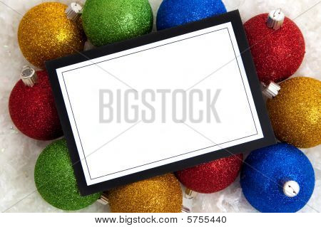 Christmas Invitation Or Note-card