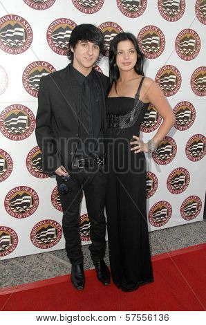 Mitchel Musso and Gia Mantegna at the 11th Annual Festival of Arts Pageant of the Masters. Private Location, Long Beach, CA. 08-29-09