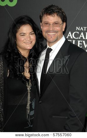 Kelly Moneymaker and Peter Reckell at the 36th Annual Daytime Emmy Awards. Orpheum Theatre, Los Angeles, CA. 08-30-09