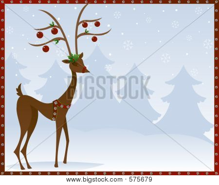 Reindeer In Bells