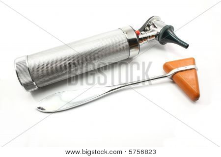 Reflex Hammer And Otoscope
