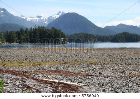 Alaska Landscape Near Sitka