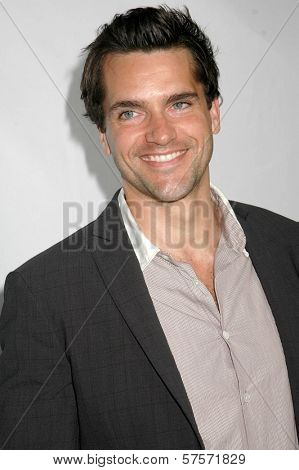 Jackson Hurst  at Los Angeles Confidential Magazine's Annual Pre-Emmy Party. Private Residence, Bel Air, CA. 09-17-09