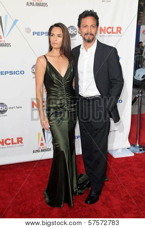 Talisa Soto and Benjamin Bratt at the 2009 ALMA Awards. Royce Hall UCLA, Westwood, CA. 09-17-09