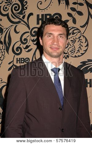 Wladimir Klitschko  at HBO's Post Emmy Awards Party. Pacific Design Center, West Hollywood, CA. 09-20-09
