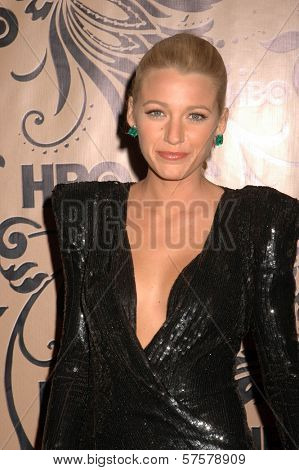 Blake Lively  at HBO's Post Emmy Awards Party. Pacific Design Center, West Hollywood, CA. 09-20-09