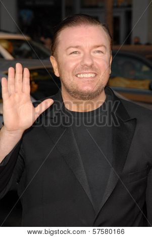 Ricky Gervais at the US Premiere of 'The Invention of Lying'. Grauman's Chinese Theatre, Hollywood, CA. 09-21-09