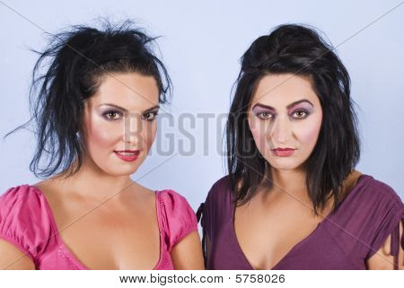 Women Hairstyles And Make Up