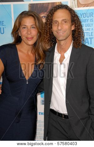Lyndie Benson and Kenny G at the US Premiere of 'The Invention of Lying'. Grauman's Chinese Theatre, Hollywood, CA. 09-21-09