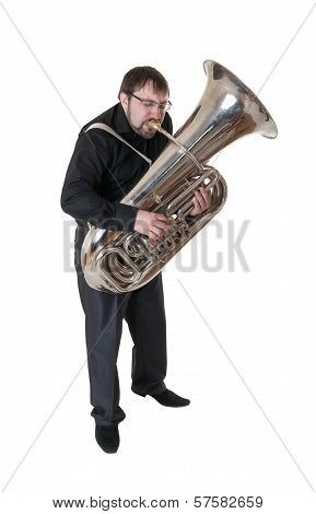 Musician With Tuba