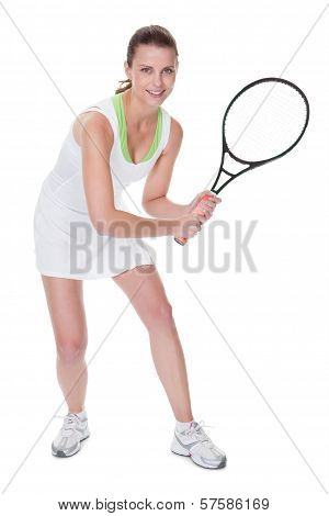 Young Woman Tennis Player