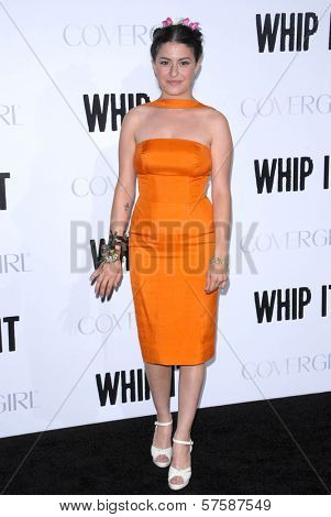 Alia Shawkat at the Los Angeles Premiere of 'Whip It'. Grauman's Chinese Theatre, Hollywood, CA. 09-29-09