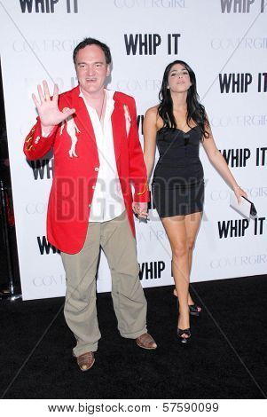 Quentin Tarantino at the Los Angeles Premiere of 'Whip It'. Grauman's Chinese Theatre, Hollywood, CA. 09-29-09