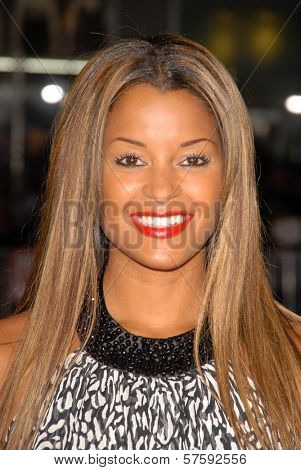 Claudia Jordan  at the Los Angeles Premiere of 'Law Abiding Citizen'. Grauman's Chinese Theatre, Hollywood, CA. 10-06-09