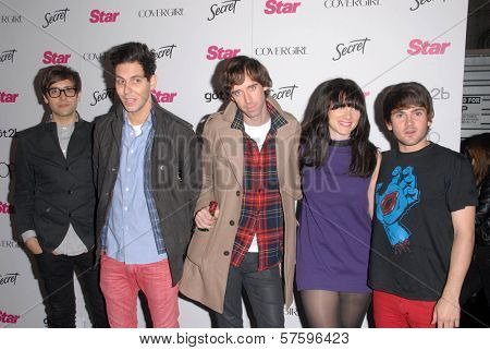Cobra Starship at the Star Magazine 5th Anniversary Party. Bardot Hollywood, Hollywood, CA. 10-13-09