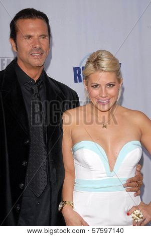 Lorenzo Lamas and Shayne Lamas  at Fox Reality Channel's 'Really Awards' 2009. Music Box Theatre, Hollywood, CA. 10-13-09