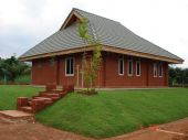 foto of unicity  - new brick techcology and building with great design and structure - JPG