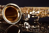 picture of trumpets  - Close - JPG