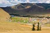 picture of ulaanbaatar  - Small colorful - JPG
