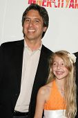 Ray Romano and Lily Rosenthal  at the 20th Anniversary Inner City Arts Imagine Gala and Auction. Bev