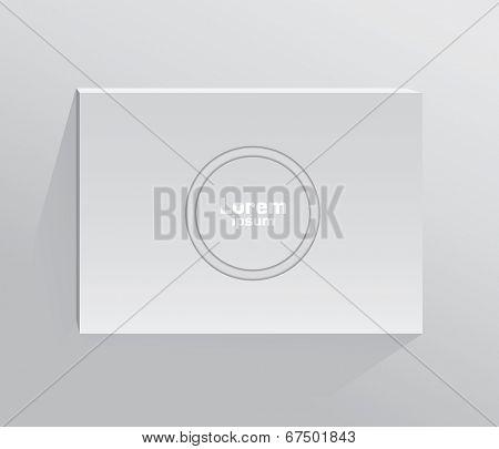 Blank book.