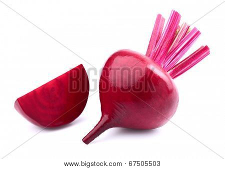 Beet with slice