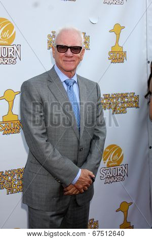 LOS ANGELES - JUN 26:  Malcolm McDowell at the 40th Saturn Awards at the The Castaways on June 26, 2014 in Burbank, CA