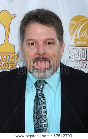 LOS ANGELES - JUN 26:  Britt Griffith at the 40th Saturn Awards at the The Castaways on June 26, 2014 in Burbank, CA