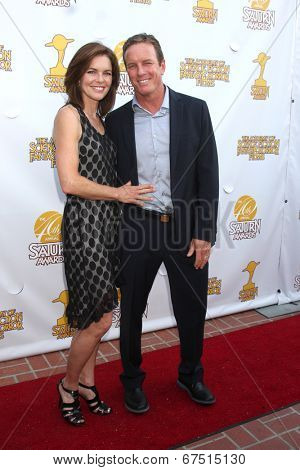 LOS ANGELES - JUN 26:  Susan Walters, Linden Ashby at the 40th Saturn Awards at the The Castaways on June 26, 2014 in Burbank, CA