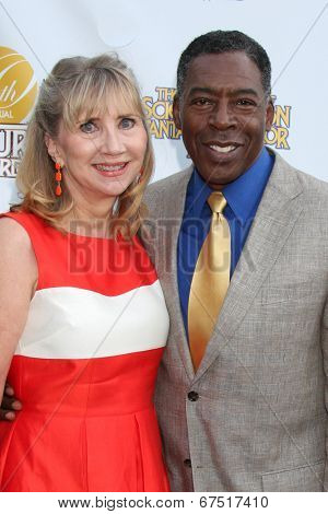 LOS ANGELES - JUN 26:  Linda Hudson, Ernie Hudson at the 40th Saturn Awards at the The Castaways on June 26, 2014 in Burbank, CA