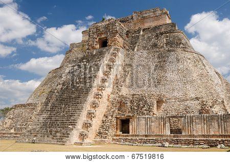 Uxmal Maya Ruins In Ucatan, Exico