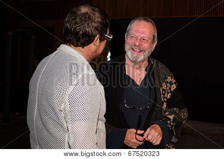 MOSCOW - JUNE, 14: American director Terry Gilliam. Premiere of the movie The Zero Theorem at the Barvikha Village. June 14, 2014 in Moscow, Russia