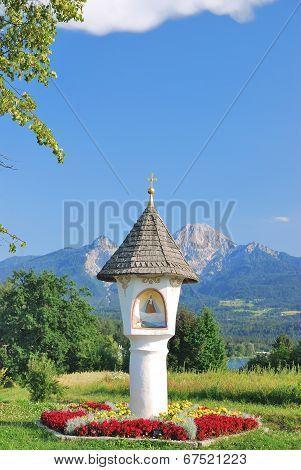 Wayside Shrine,Lake Faaker See,Carinthia,Austria