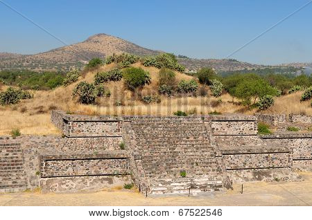 Teotihuacan Aztec Ruins Near Mexico City