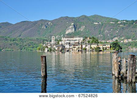 Isola San Giulio,Lake Orta,Piedmont,Italy