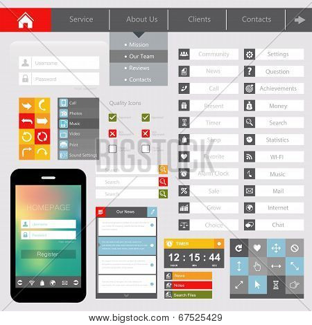 Design of mobile applications?