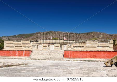 Mitla Mayan Ruins In Mexico