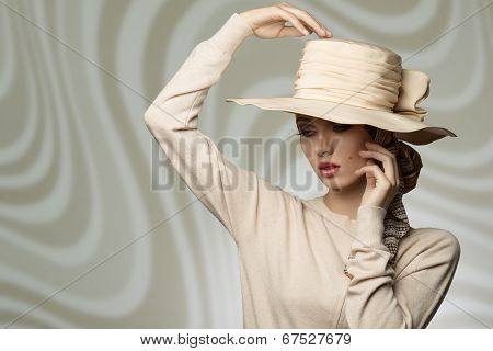 Woman With Lovely Hat