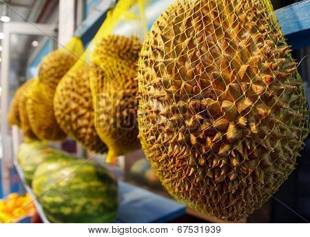 Durian At The Market